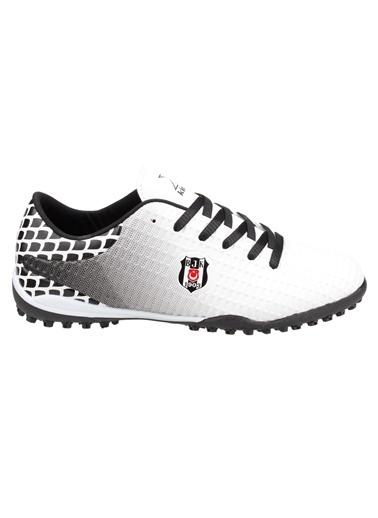 Kinetix Kinetix Sergi Turf BJK Halı Saha Erkek Futbol Ayakkabısı Beyaz